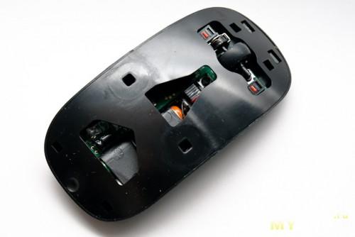 мышь без верхней панели