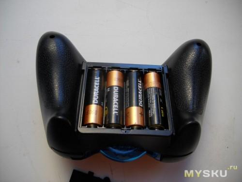 4 батарейки