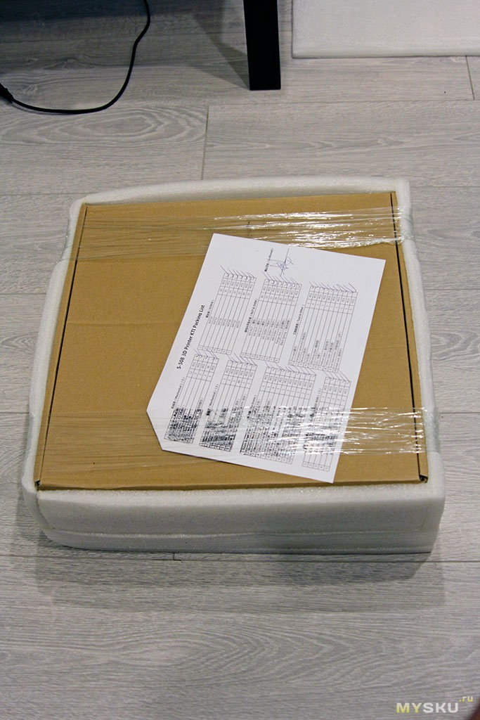 на упаковке есть список того что в комплекте, удобно