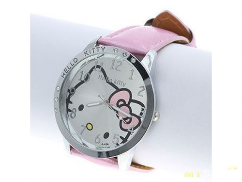 Детские наручные часы Lovely Hello Kitty 85349660bf3e2