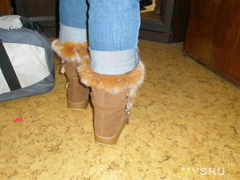 На ногах