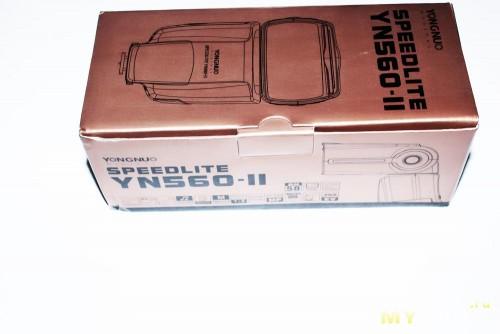 Фирменная коробка Yongnuo YN560 II