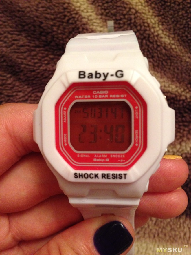 Наручные часы Casio Baby-G - ClockArt