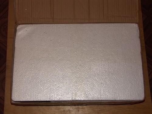 Пенопластовая коробка 1