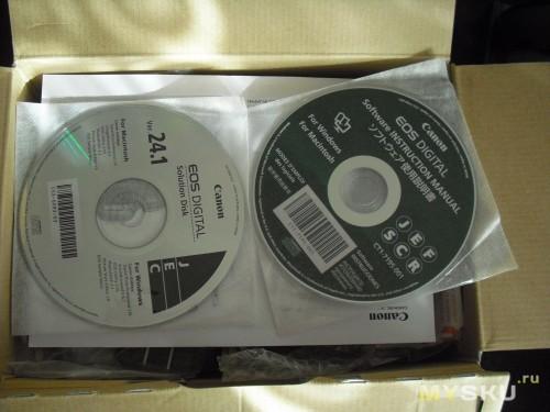 Пара дисков с ПО