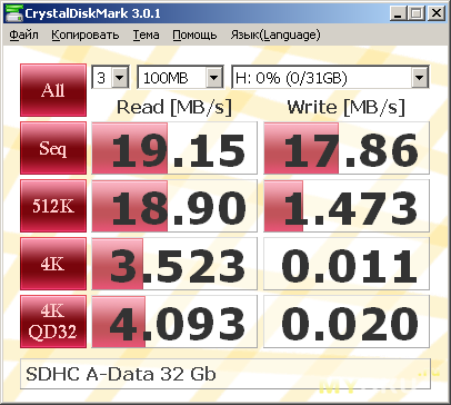 A-Data SDHC 32 Gb