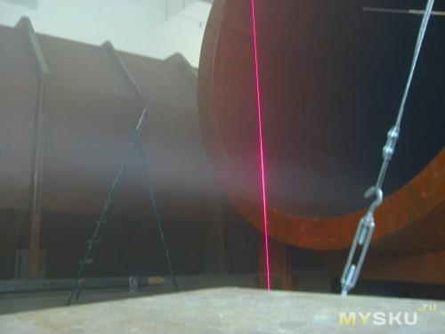 Лазер в работе