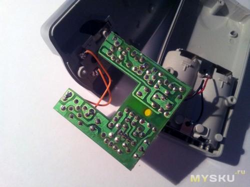 Зарядное устройство изнутри