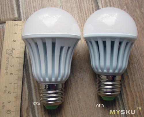 Светодиодные лампы 9W