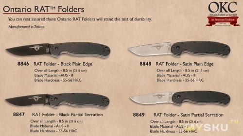 Вариации ножа