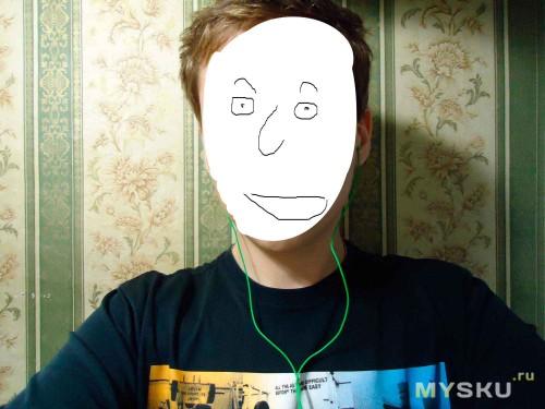 Фото на человеке