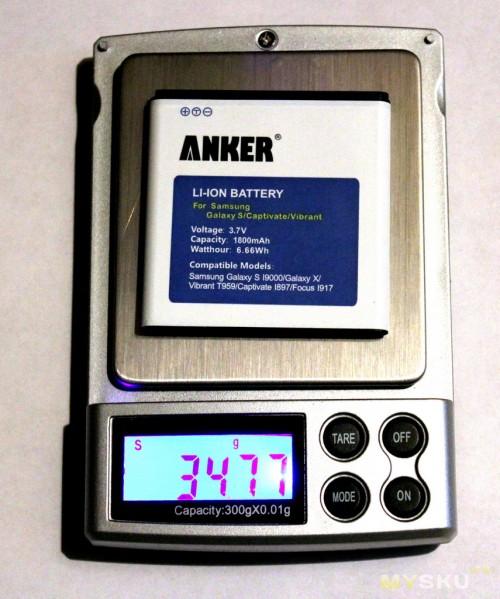 Аккумулятор Anker