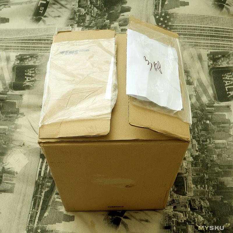 Коробка EMS
