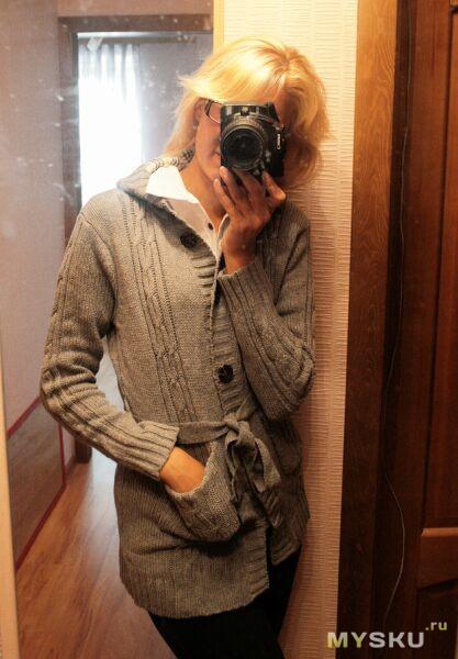 свитер на мне