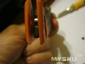 Ножик разобран - внутри