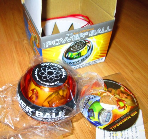 Powerball - упаковка - всё вместе