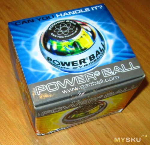 Powerball 250Hz - упаковка
