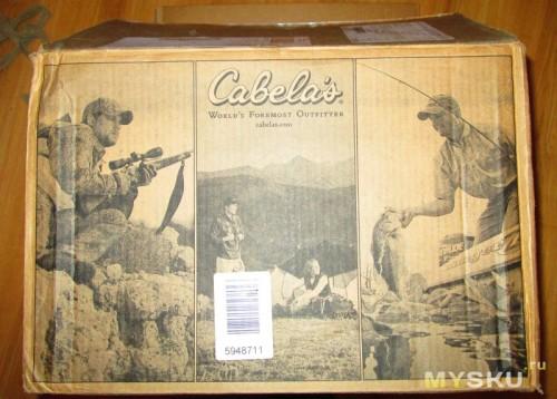 Фирменная коробка Cabelas
