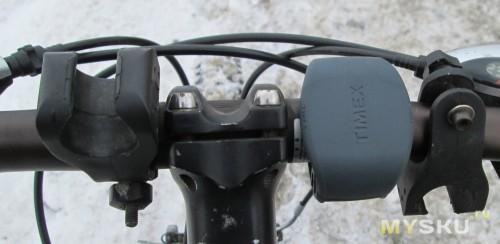 Крепление на велоруле