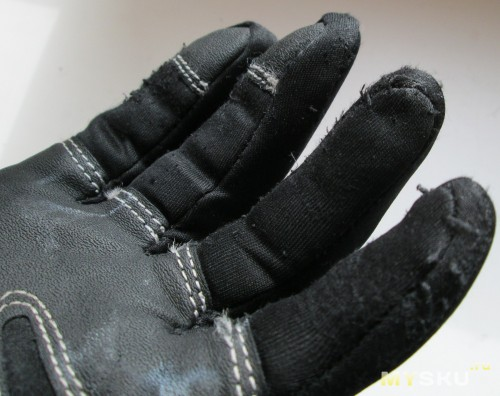 Windstopper gloves - Пальчики