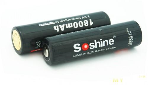 Lifepo4 soshine