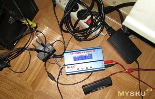 Тестовый стенд - Imax B6 + USB to UART