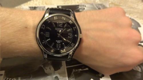 Большие наручные часы мужские и женские купить на руку