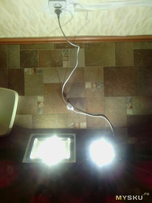 светодиодный прожектор 30w и 50w
