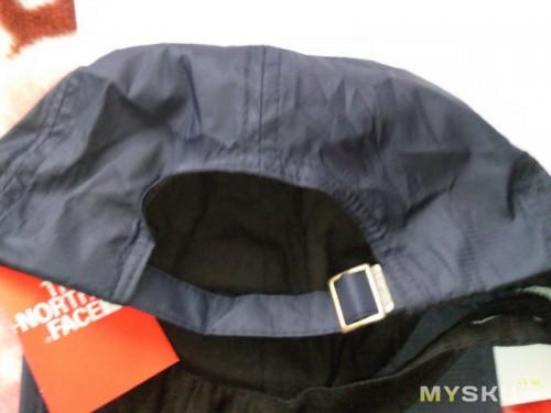 Вид задней части кепки