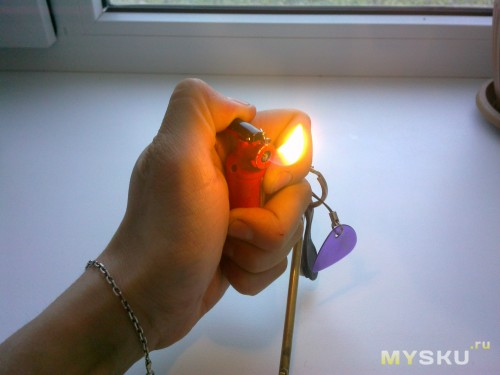 Собственно пламя