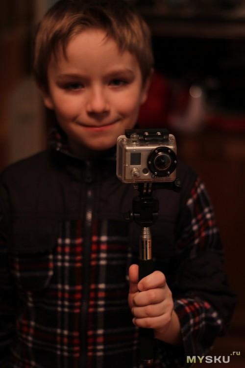 с камерой GoPro