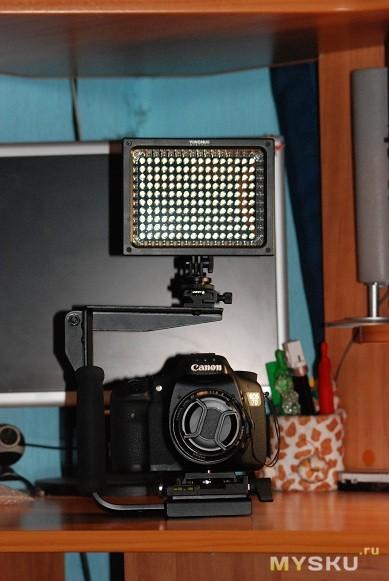 общий вид на камере