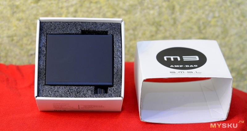Усилитель для наушников SMSL M3 HIFI 2 0 24bit/192kHz DAC