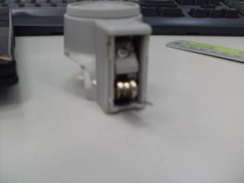 батарейки и светодиод