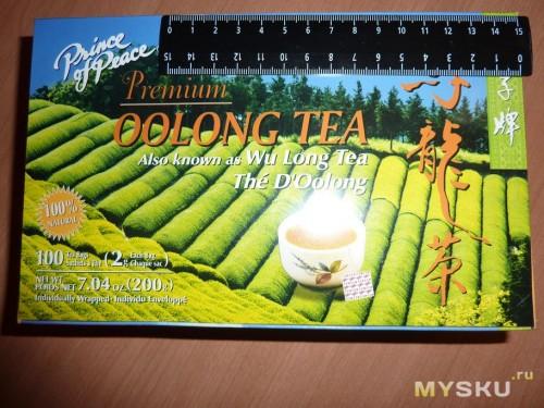 Чай Oolong. Коробка.