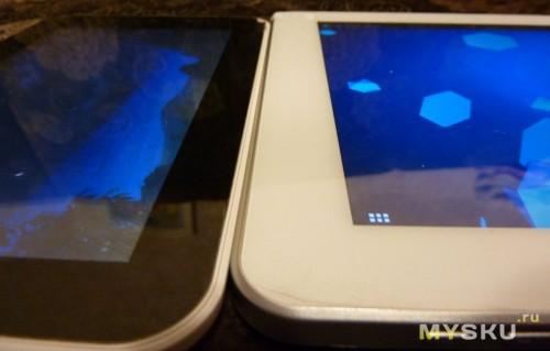 Сравнение экранов планшетов