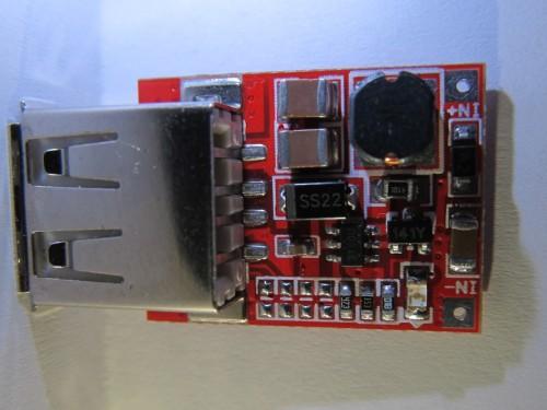 USB DC-DC boost module macro