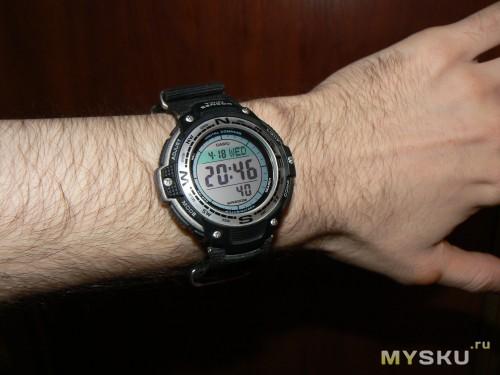 Часы Casio SGW-100-1V - russian-watchru