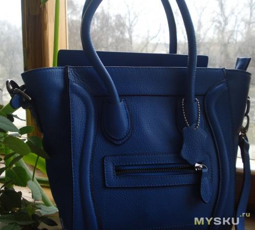 реальный цвет сумки