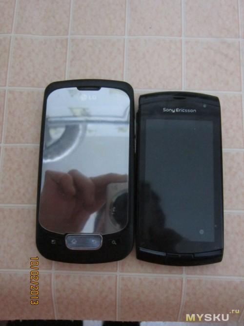 optimus с Ericsson