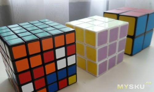 Небольшая коллекция кубиков