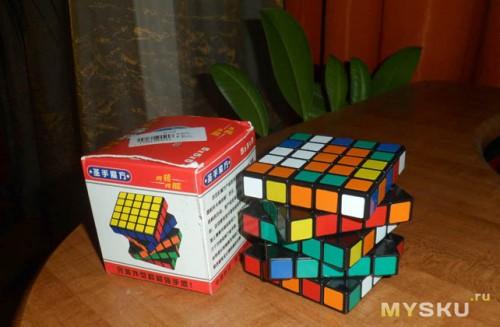 Кубик и упаковка