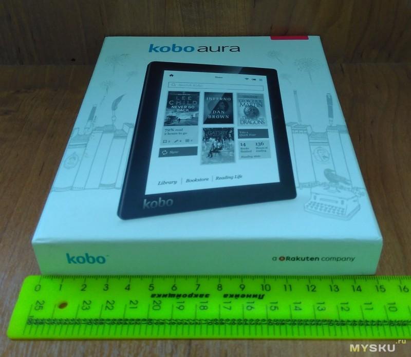 Электронная книга Kobo Aura vs Kindle Paperwhite