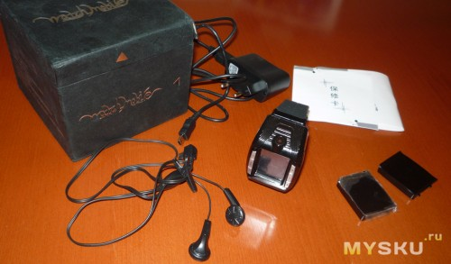 Телефон-часы F3