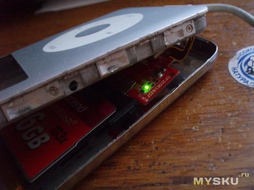ipod и адаптер 3