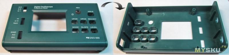 DIY набор-конструктор для сборки осциллографа DSO068: https://mysku.ru/blog/china-stores/40819.html