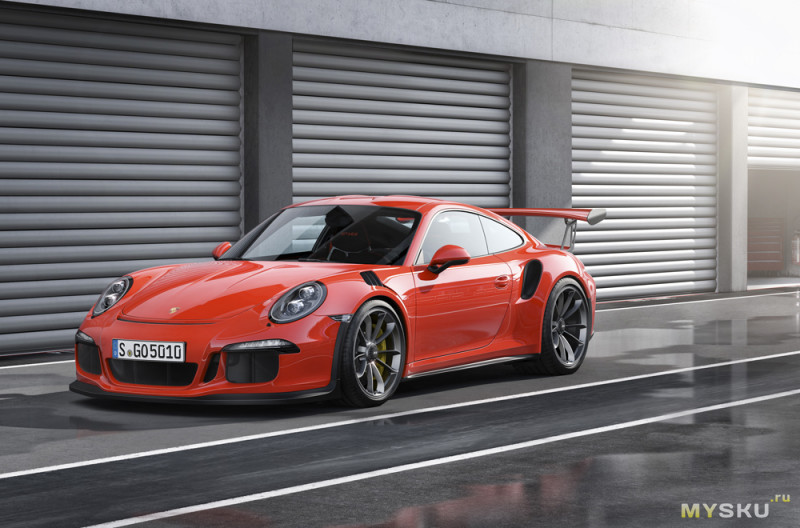 Porsche 911 GT3 RS - Lepin 20001 - точная копия Lego Technic 42056 за в 6! раз меньше денег. И в неплохом качестве.