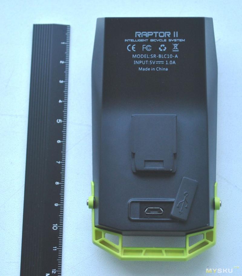 Беспроводной велокомпьютер SHANREN Raptor II. Два в одном!