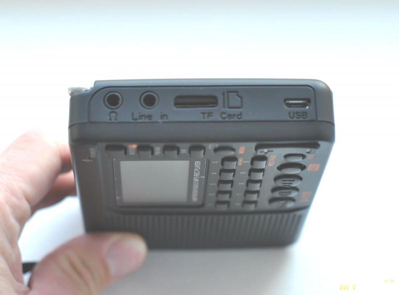 Радиоприемник TIVDIO V-115 с MP3 и записью