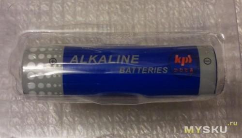 Комплектная батарейка